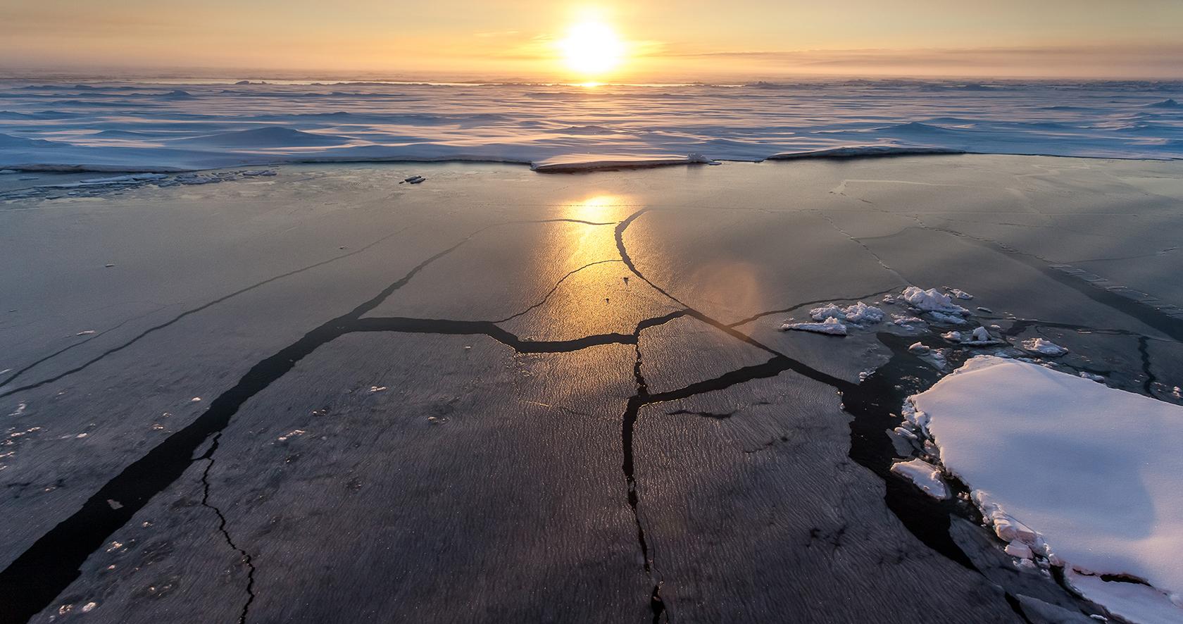 Young Arctic sea ice © Alfred Wegener Institute, Mario Hoppmann
